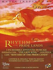 X0872 The Lion King - Colonna Sonora Disney - Pubblicità del 1995 - Advertising