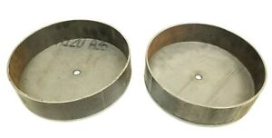 Front Air Ride Suspension Deep Drop Lower Bag Bracket Cups For 63-87 Chevy C20
