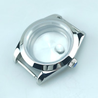 10ATM 39mm Datejust Style Watch Case Bracelet Fit Seagull ETA2836 Miyota8215