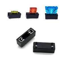 10Pcs Universal Car Fuse Holder PCB Panel Mount Insurance Blocks Safety Terminal