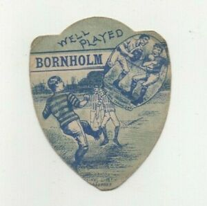 John Baines of Bradford Rugby Card - 'Well Played' Bornholm