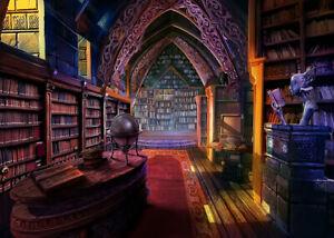 Wizard Tower Library Bookshelf 500 Pcs Puzzle Jigsaw Adult Kid Educational Toys