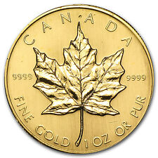 1983 Canada 1 oz Gold Maple Leaf BU - SKU #74653