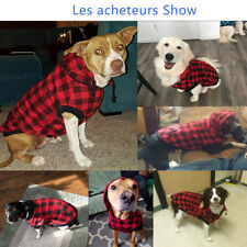 Large Dog Coat Jacket Waterproof XL Sweater Clothes Removable Hoodie Outdoor
