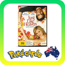 PRE-OIWNED JUST LIKE HEAVEN - REESE WITHERSPOON  DVD R4 FREE POSTAGE!!