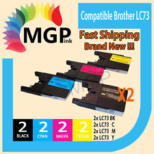 8x generic ink Cartridge LC73 LC40 XL  for Brother MFCJ5910DW DCP-J525W