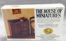 House of Miniatures X-acto Doll House Chippendale Dry Sink Wash Stand Kit 40019