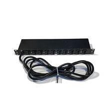 APC AP9555 Basic Rack PDU 1U 20A 120V (11x) 5-15R Outlets 5-20P Input