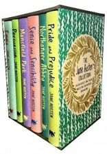 The Jane Austen Collection 6 Books Box Set Hardback Deluxe Collectors Gift Pack