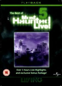 The Best Of Most Haunted Live! 5 - DVD - Region 2 - FAST POST