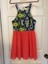 JEALOUS TOMATO OPEN BACK DRESS Size large NWOT