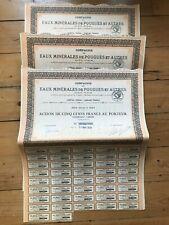13 x EAUX MINERALES DE POUGUES for 1€ ?