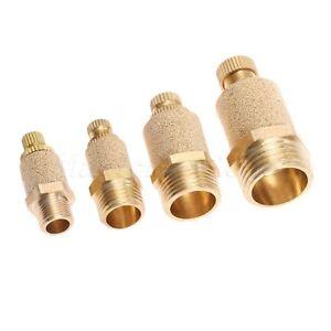"""1/8"""" 1/4"""" 3/8"""" 1/2"""" Pneumatic Muffler Silencer Filter Air Flow Speed Controller"""