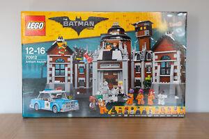 LEGO THE BATMAN MOVIE Arkham Asylum (70912) - NEW & SEALED - RETIRED & RARE!!