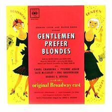 """""""GENTLEMEN PREFER BLONDES"""" Original Broadway Cast 12"""" CBS BPG-62087 [Mono LP]"""