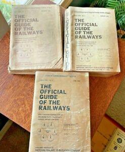 Official Guide Of The Railways, June.November 1968 & February 1970