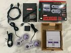 SNES Super Nintendo Classic Edition HDMI Mini Console 21 + 5000 Games Authentic photo
