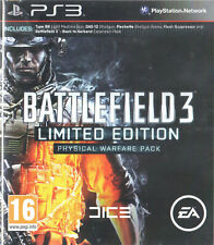 Battlefield 3 Ltd Edition Physical Warfare Pack Sony PS3 16+ Shooter FPS Game
