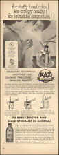 1953 vintage health AD KAZ Electric Vaporizer use with Kaz For Colds 012518