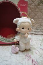 Precious Moments Ornament Babys 1st First Christmas 1999 Girl in Lamb Suit