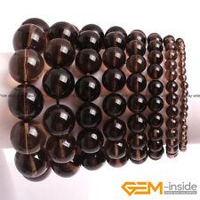 "Wholesale Lot Natural Gemstones Beaded Healing Reiki Stretchy Bracelet 7""Unisex"