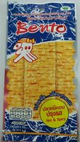 Squid Seafood Snack Hot and Spicy Flavor (Squid Mixed Surimi) (ฺBento Brand) 5g