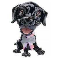 Arora Little Paws JET Black Labrador Figurine   Dog Ornament Gift For Lab Lovers