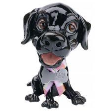 Arora Little Paws JET Black Labrador Figurine | Dog Ornament Gift For Lab Lovers