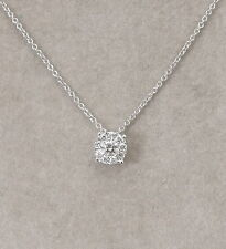 Weißgold kette mit brillant  Anhänger & Halsketten aus Weißgold mit Diamanten | eBay