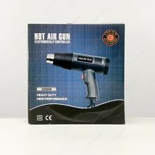 Heat Gun Hot Air Gun Step-less Temperature 4 Nozzles Power 2000W Paint Stripper