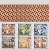 10PCS DIY Mosaic Self Adhesive Wall Tile Sticker Bathroom Kitchen Home Decor
