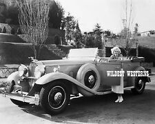 JEAN HARLOW Rare Candid Pose PHOTO Sexy at home ANTIQUE CLASSIC CAR