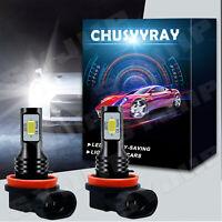 H11 COB LED Scheinwerfer Birnen hohes Abblendlicht Auto Leuchte Lampe  6500Kweiß