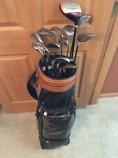 PING Eye Iron Set Golf Clubs (10 clubs) + bag + travel case + driver/woods (4)