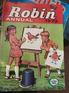 Hardback book. Robin Annual. 1973.
