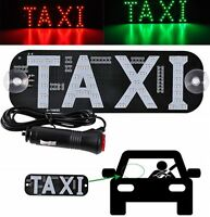 Hot Sale Taxi Cab Windscreen Windshield Sign White LED Taxi Light Lamp GX