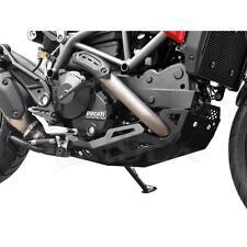 Ducati Hypermotard 821 BJ 2013-15 Motorschutz Bugspoiler Unterfahrschutz Schwarz