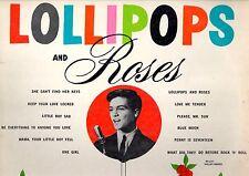 PAUL PETERSEN.LOLLIPOPS AND ROSES.RARE U.S.ORIG LP.F/G.