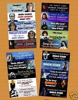 Beatles Solo Years Jukebox Title Strips Vol. 1
