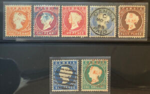 GAMBIA  5 - 11  GORGEOUS Used  Set   gd 95