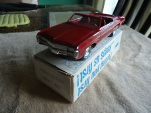 1969 CHEVROLET IMPALA CONV PROMO W/BOX - REAL MINT GARNET RED WOW!