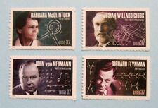 Sc # 3906-3906 ~ Se-tenant Singles ~ 37 cent American Scientists Issue (cg18)