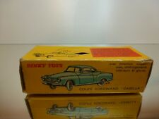 DINKY TOYS 549  BORGWARD COUPE - EMPTY BOX - GOOD CONDITION