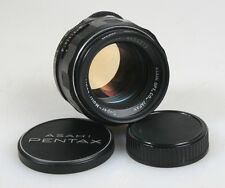 50MM F 1.4 ASAHI PENTAX TAKUMAR M42 MOUNT W/FILTER,ORIGINAL CAP   REAR CAP