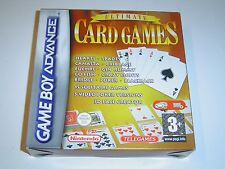 ULTIMATE CARD GAMES NINTENDO GAMEBOY ADVANCE GBA *NEW*