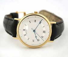 BREGUET CLASSIQUE AUTOMATIC 5930BA/12/986 18K YELLOW GOLD WATCH