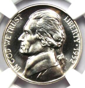 1952 Proof Jefferson Nickel 5C Coin - Certified NGC PR69 (PF69) - $375 Value!
