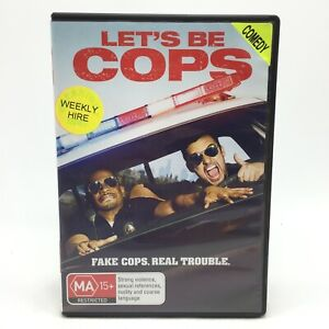 Let's Be Cops (DVD, 2014) Region 4 With Jake Johnson In Very Good Condition