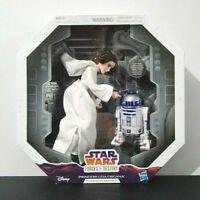 Princess Leia Organa & R2-D2 Star Wars Forces of Destiny Platinum Edition New