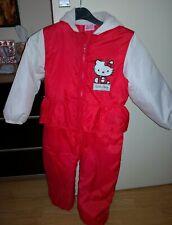Girls Hello Kitty snowsuit, Coat 4-5 Years